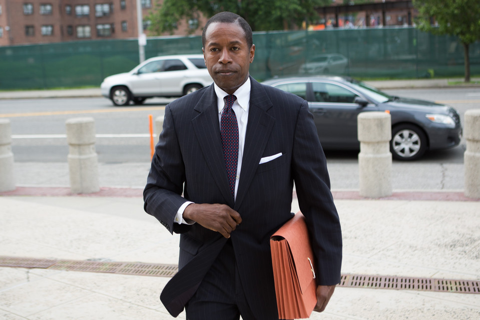 Former Senator Malcolm Smith was found guilty for bribery. (PHOTO BY KEVIN HAGEN FOR THE WALL STREET JOURNAL)